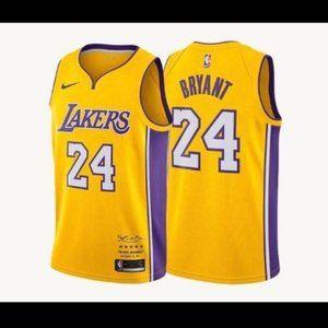 NWT Kobe Bryant Lakers jersey SZ Various